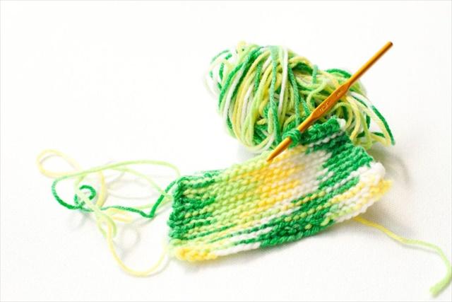 編み物の練習におすすめのアクリルたわし